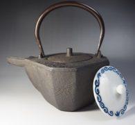 【茶道具買取】地龍造 八角竹紋燗鍋 買取しました。