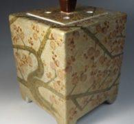 【茶道具買取】藤村正美作 九谷焼 梅文香炉 買取しました。