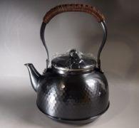 【茶道具買取】黒銅仕上湯沸 入荷しました。