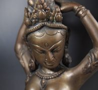 【仏像買取】真鍮 女神像買取しました。