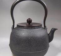 【茶道具買取】菊地政光作 鉄瓶 買取しました。