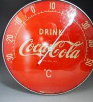 【昭和レトロ】コカ・コーラ壁掛け温度計 買取しました。