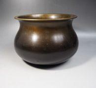 【茶道具買取】中川浄益銅製建水買取しました。