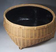 【茶道具買取】岡田正作 鉄鉢形 炭斗買取しました。