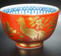 【茶道具買取】 林淡幽造 金襴手五子登科図 茶碗 買取しました。