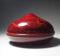 【茶道具】辻石斎作 宝珠形高山寺香合買取しました。